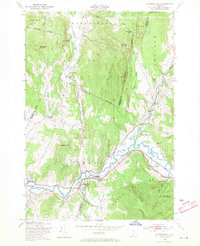 Download a high-resolution, GPS-compatible USGS topo map for Jeffersonville, VT (1970 edition)