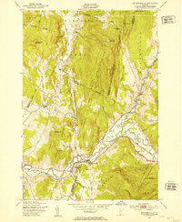 Download a high-resolution, GPS-compatible USGS topo map for Jeffersonville, VT (1953 edition)