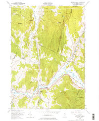 Download a high-resolution, GPS-compatible USGS topo map for Jeffersonville, VT (1976 edition)