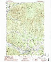 Download a high-resolution, GPS-compatible USGS topo map for Johnson, VT (1987 edition)
