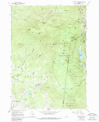 Download a high-resolution, GPS-compatible USGS topo map for Killington Peak, VT (1988 edition)