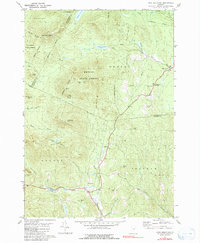 Download a high-resolution, GPS-compatible USGS topo map for Knox Mountain, VT (1991 edition)