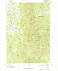 Download a high-resolution, GPS-compatible USGS topo map for Lincoln, VT (1972 edition)