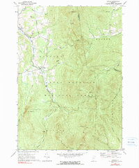 Download a high-resolution, GPS-compatible USGS topo map for Lincoln, VT (1990 edition)