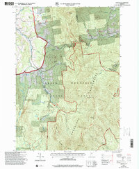 Download a high-resolution, GPS-compatible USGS topo map for Lincoln, VT (2000 edition)