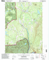 Download a high-resolution, GPS-compatible USGS topo map for Londonderry, VT (2000 edition)