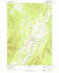 Download a high-resolution, GPS-compatible USGS topo map for Manchester, VT (1973 edition)