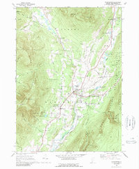 Download a high-resolution, GPS-compatible USGS topo map for Manchester, VT (1989 edition)