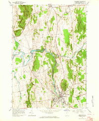 Download a high-resolution, GPS-compatible USGS topo map for Middlebury, VT (1964 edition)