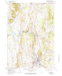 Download a high-resolution, GPS-compatible USGS topo map for Middlebury, VT (1984 edition)