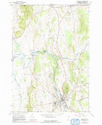 Download a high-resolution, GPS-compatible USGS topo map for Middlebury, VT (1991 edition)