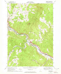 Download a high-resolution, GPS-compatible USGS topo map for Middlesex, VT (1972 edition)