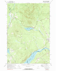 Download a high-resolution, GPS-compatible USGS topo map for Miles Pond, VT (1983 edition)
