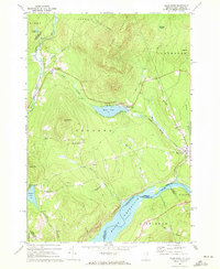 Download a high-resolution, GPS-compatible USGS topo map for Miles Pond, VT (1972 edition)