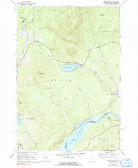 Download a high-resolution, GPS-compatible USGS topo map for Miles Pond, VT (1991 edition)