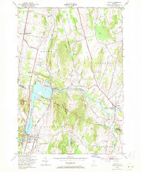 Download a high-resolution, GPS-compatible USGS topo map for Milton, VT (1971 edition)