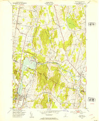 Download a high-resolution, GPS-compatible USGS topo map for Milton, VT (1953 edition)