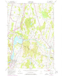 Download a high-resolution, GPS-compatible USGS topo map for Milton, VT (1977 edition)