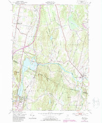 Download a high-resolution, GPS-compatible USGS topo map for Milton, VT (1987 edition)