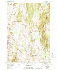 Download a high-resolution, GPS-compatible USGS topo map for Monkton Boro, VT (1990 edition)