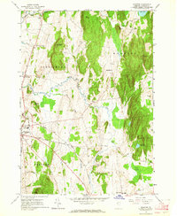Download a high-resolution, GPS-compatible USGS topo map for Monkton, VT (1964 edition)