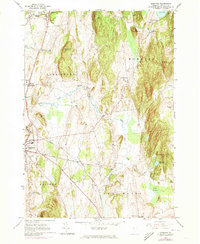 Download a high-resolution, GPS-compatible USGS topo map for Monkton, VT (1973 edition)