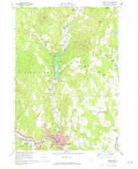 Download a high-resolution, GPS-compatible USGS topo map for Montpelier, VT (1973 edition)