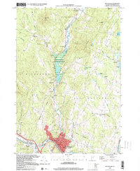 Download a high-resolution, GPS-compatible USGS topo map for Montpelier, VT (2000 edition)