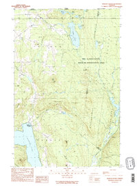 Download a high-resolution, GPS-compatible USGS topo map for Morgan Center, VT (1989 edition)