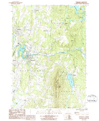 Download a high-resolution, GPS-compatible USGS topo map for Morrisville, VT (1986 edition)