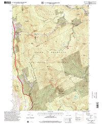 Download a high-resolution, GPS-compatible USGS topo map for Mount Carmel, VT (2000 edition)