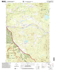 Download a high-resolution, GPS-compatible USGS topo map for Mount Holly, VT (2000 edition)