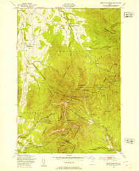 Download a high-resolution, GPS-compatible USGS topo map for Mount Mansfield, VT (1953 edition)