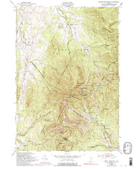 Download a high-resolution, GPS-compatible USGS topo map for Mount Mansfield, VT (1992 edition)