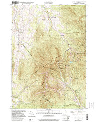 Download a high-resolution, GPS-compatible USGS topo map for Mount Mansfield, VT (2000 edition)