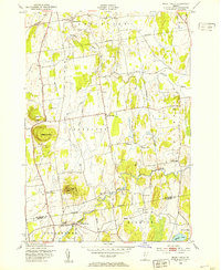 Download a high-resolution, GPS-compatible USGS topo map for Mount Philo, VT (1953 edition)