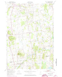 Download a high-resolution, GPS-compatible USGS topo map for Mount Philo, VT (1973 edition)
