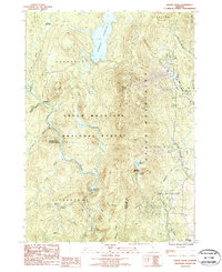 Download a high-resolution, GPS-compatible USGS topo map for Mount Snow, VT (1987 edition)