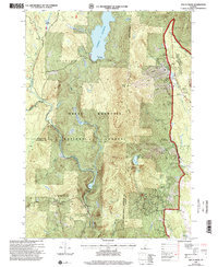 Download a high-resolution, GPS-compatible USGS topo map for Mount Snow, VT (2000 edition)