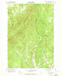 Download a high-resolution, GPS-compatible USGS topo map for Mount Worcester, VT (1972 edition)