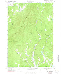 Download a high-resolution, GPS-compatible USGS topo map for Mount Worcester, VT (1983 edition)