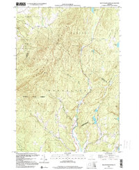 Download a high-resolution, GPS-compatible USGS topo map for Mount Worcester, VT (2000 edition)