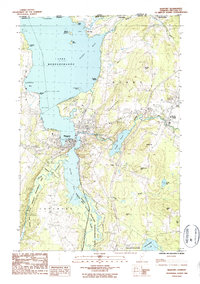 Download a high-resolution, GPS-compatible USGS topo map for Newport, VT (1987 edition)