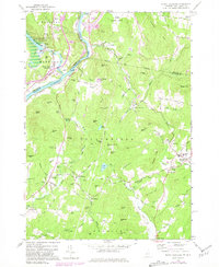Download a high-resolution, GPS-compatible USGS topo map for North Hartland, VT (1981 edition)