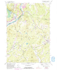 Download a high-resolution, GPS-compatible USGS topo map for North Hartland, VT (1991 edition)