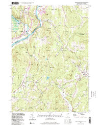 Download a high-resolution, GPS-compatible USGS topo map for North Hartland, VT (1998 edition)