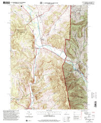Download a high-resolution, GPS-compatible USGS topo map for North Pownal, VT (2000 edition)