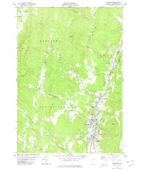 Download a high-resolution, GPS-compatible USGS topo map for Northfield, VT (1980 edition)