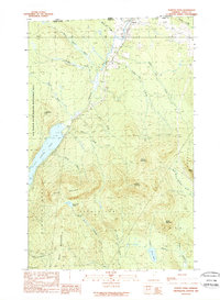 Download a high-resolution, GPS-compatible USGS topo map for Norton Pond, VT (1989 edition)
