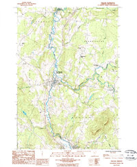 Download a high-resolution, GPS-compatible USGS topo map for Orleans, VT (1986 edition)